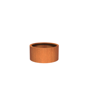 Adezz Producten Planter Corten Steel Round Atlas 80x40