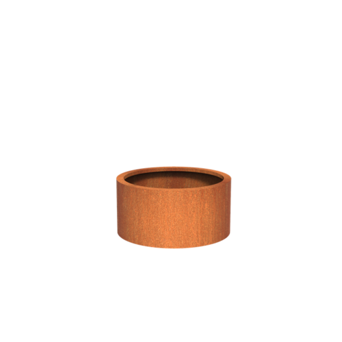 Adezz Producten Pflanzer Corten Stahl Rundatlas 80x40