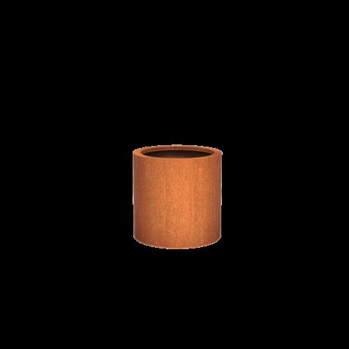Adezz Producten Pflanzer Corten Stahl Rundatlas 60x60