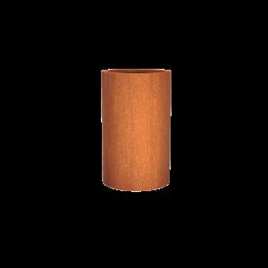 Adezz Producten Planter Corten steel Round Atlas 60x100