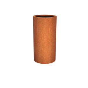 Adezz Producten Plantenbak Cortenstaal Rond Atlas 60x120cm