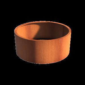 Adezz Producten Planter Corten steel Round Atlas without bottom 150x60