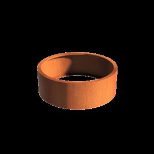 Adezz Producten Pflanzer Corten Stahl Rundatlas ohne Boden 120x40