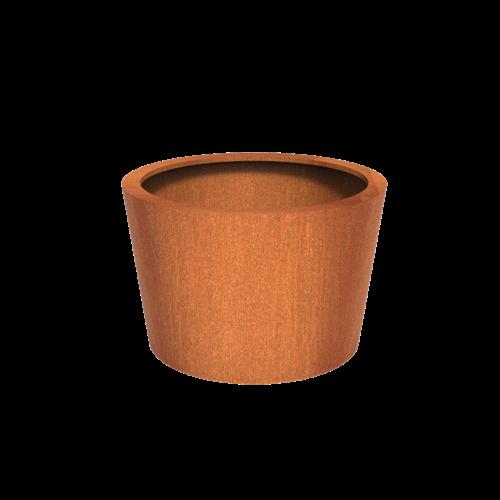 Adezz Producten Pflanzer Corten Steel Round Cado 120x80