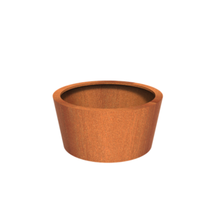 Adezz Producten Pflanzer Corten Steel Round Cado 120x60