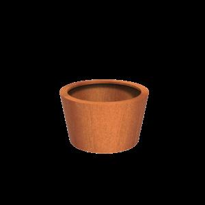 Adezz Producten Pflanzer Corten Steel Round Cado 100x60