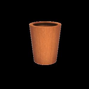 Adezz Producten Planter Corten Steel Round Cado 80x100
