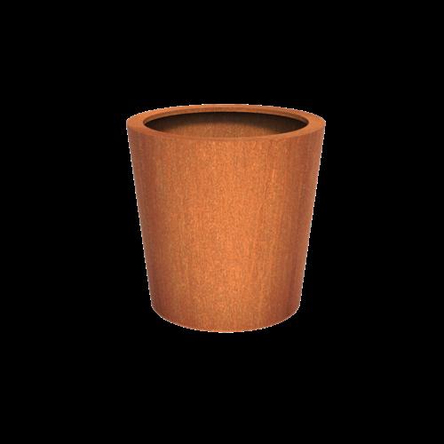 Adezz Producten Pflanzer Corten Steel Round Cado 100x100