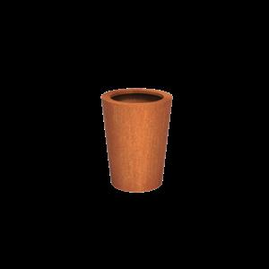 Adezz Producten Planter Corten Steel Round Cado 60x80