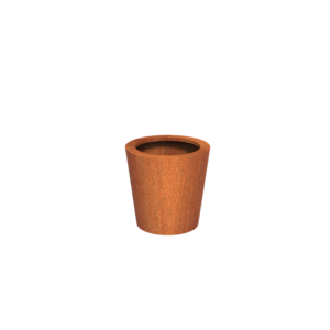 Adezz Producten Pflanzer Corten Steel Round Cado 60x60