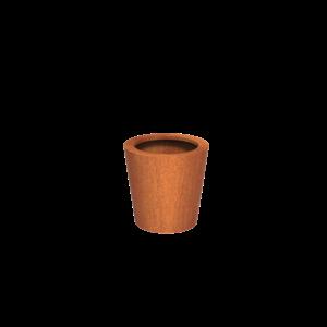 Adezz Producten Planter Corten Steel Round Cado 60x60