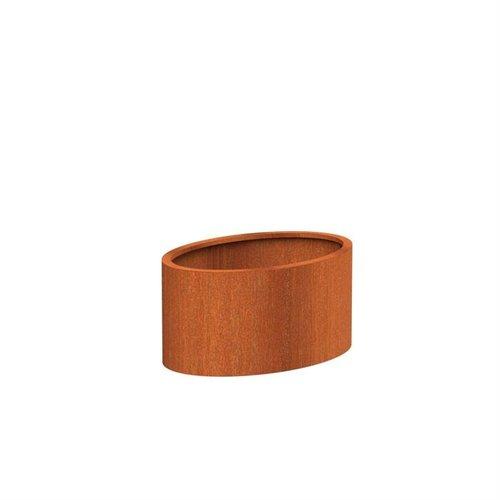 Adezz Producten Pflanzgefäß Corten Stahl Andere Ellipse 120x80x60