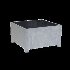 Adezz Producten Plantenbak Verzinkt Staal Vierkant Vadim 140x140x80cm