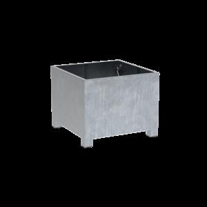 Adezz Producten Plantenbak Verzinkt Staal Vierkant Vadim 100x100x80cm