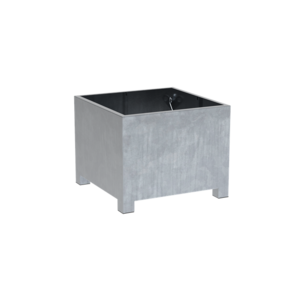 Adezz Producten Planter Galvanized Steel Square Vadim 100x100x80