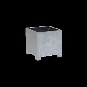 Adezz Producten Pflanzgefäß aus verzinktem Stahl quadratisch Vadim 80x80x80cm