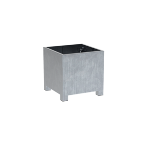 Adezz Producten Plantenbak Verzinkt Staal Vierkant Vadim 80x80x80cm
