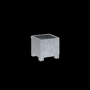Adezz Producten Planter Galvanized Steel Rectangle Vadim 60x60x60