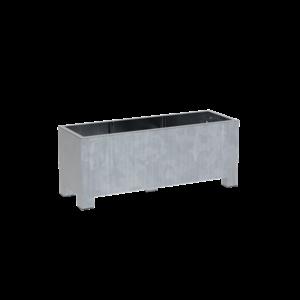 Adezz Producten Pflanzgefäß aus verzinktem Stahl Rechteck Vadim 150x50x60cm