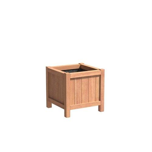 Adezz Producten Plantenbak Hardhout Vierkant Valencia 60x60x60cm