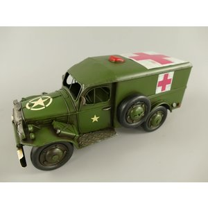 Miniatuur model Rode kruis auto