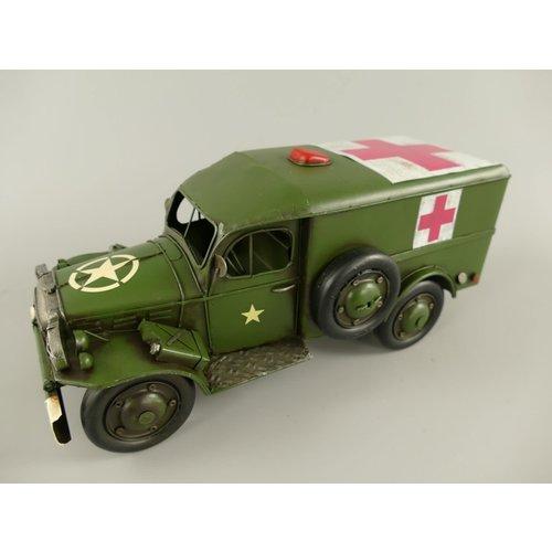 Miniature model Red cross car