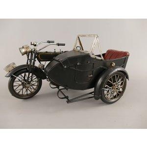 Miniatuur model Motor met zijspan