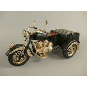 Miniatuur motor met bak