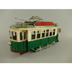 Miniaturmodell Straßenbahn