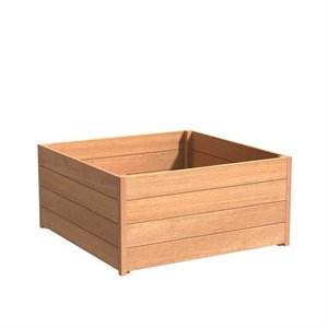 Adezz Producten Pflanzer Hartholz Platz Sevilla 120x120x58cm
