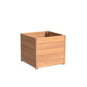 Adezz Producten Plantenbak Hardhout Vierkant Sevilla 80x80x72cm