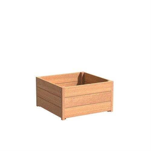 Adezz Producten Plantenbak Hardhout Vierkant Sevilla 80x80x44cm