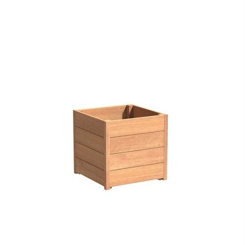 Adezz Producten Plantenbak Hardhout Vierkant Sevilla 60x60x58cm