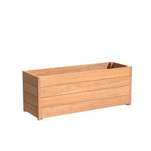 Adezz Producten Planter Hardwood Rectangle Sevilla 150x50x58cm