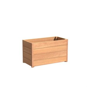 Adezz Producten Planter Hardwood Rectangle Sevilla 120x50x58cm
