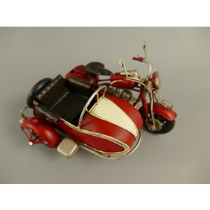 Miniature model Motorcycle with sidecar