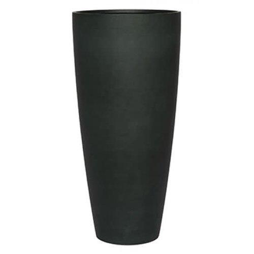 Vaas XL mat zwart 100cm