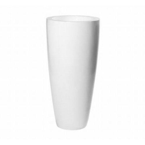 Vase matt Dax white 80cm