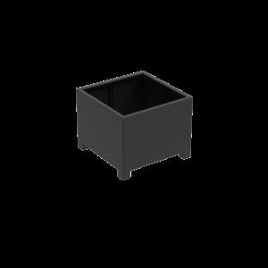 Adezz Producten Planter Aluminum Square Florida with legs 100x100x80cm