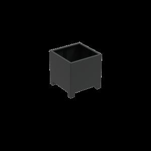 Adezz Producten Pflanzgefäß Aluminium Square Florida mit Beinen 80x80x80cm