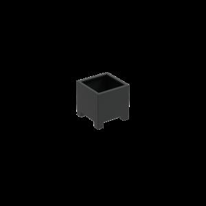 Adezz Producten Planter Aluminum Square Florida with legs 60x60x60cm