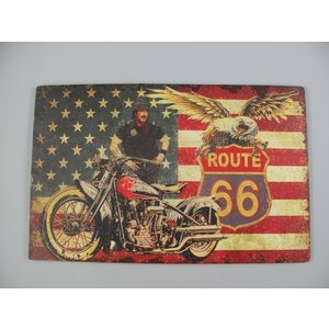 Wall decoration Route 66