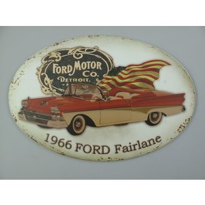 Wall decoration 1966 Ford