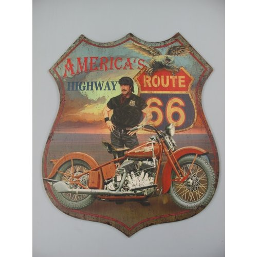 Wall decoration American Highway