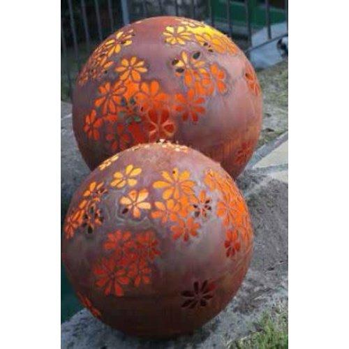 Light bulb iron rust 40cm Hippie