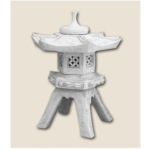 Pagoda lamp Chinese on 4 legs