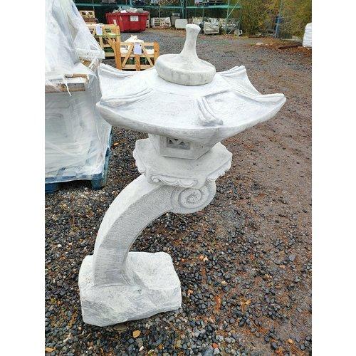 Japanese lantern curved leg 123cm