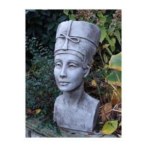 garden statue Nefertiti Head Flowerpot
