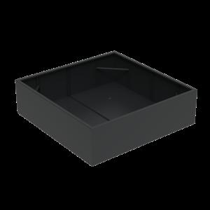 Adezz Producten Pflanzgefäß Aluminium Square Florida 200x200x60cm
