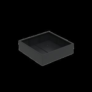 Adezz Producten Pflanzgefäß Aluminium Square Florida 140x140x60cm